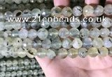 CPR359 15.5 inches 10mm faceted round prehnite beads wholesale