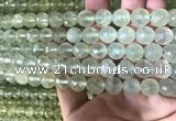 CPR363 15.5 inches 10mm faceted round prehnite gemstone beads