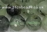 CPR407 15.5 inches 10mm faceted round prehnite beads wholesale