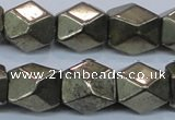 CPY611 15.5 inches 13*16mm nuggets pyrite gemstone beads