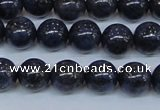 CPY773 15.5 inches 10mm round pyrite gemstone beads wholesale
