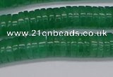 CRB1031 15.5 inches 2*5mm heishi green aventurine beads wholesale