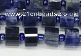 CRB1072 15.5 inches 4*6mm - 5*6mm faceted tyre sodalite beads
