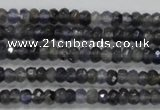 CRB117 15.5 inches 3*5mm faceted rondelle kyanite beads