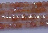 CRB1872 15.5 inches 2*3mm faceted rondelle sunstone beads