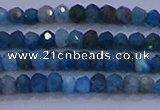 CRB1897 15.5 inches 2*3mm faceted rondelle apatite beads