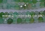 CRB1915 15.5 inches 2*3mm faceted rondelle Australia chrysoprase beads