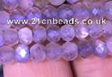 CRB1981 15.5 inches 3*5mm faceted rondelle labradorite beads