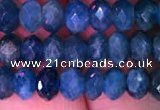 CRB1991 15.5 inches 4*6mm faceted rondelle apatite gemstone beads