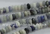 CRB21 15.5 inches 3*6mm rondelle sodalite gemstone beads