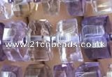 CRB2156 15.5 inches 9mm - 10mm faceted tyre ametrine beads