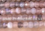 CRB2220 15.5 inches 2*3mm faceted rondelle moonstone beads