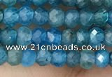 CRB2240 15.5 inches 2*3mm faceted rondelle apatite beads