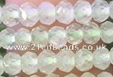 CRB2258 15.5 inches 3*4mm faceted rondelle prehnite beads