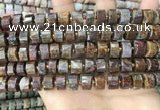 CRB2306 15.5 inches 8mm - 9mm faceted tyre pietersite beads