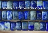 CRB2578 15.5 inches 2*4mm heishe lapis lazuli beads wholesale
