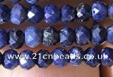 CRB2642 15.5 inches 2*3mm faceted rondelle sapphire beads wholesale
