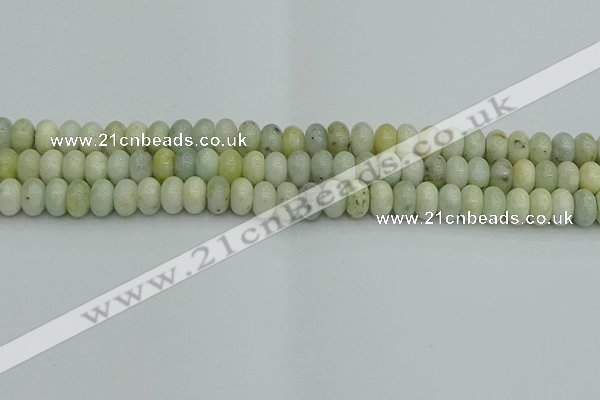 CRB2826 15.5 inches 5*8mm rondelle jade beads wholesale