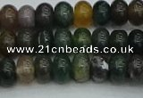 CRB2866 15.5 inches 5*8mm rondelle Indian agate beads