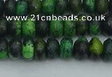 CRB2895 15.5 inches 4*6mm rondelle chrysocolla beads wholesale
