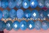 CRB3174 15.5 inches 2.5*4mm faceted rondelle tiny apatite beads
