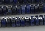 CRB429 15.5 inches 5*8mm rondelle sodalite gemstone beads