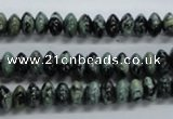 CRB46 15.5 inches 4*8mm rondelle african turquoise beads