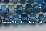 CRB536 15.5 inches 5*8mm tyre apatite gemstone beads wholesale