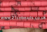 CRB5520 15 inches 2*2mm heishi synthetic turquoise beads wholesale