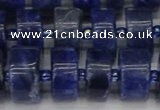 CRB641 15.5 inches 7*14mm tyre sodalite gemstone beads