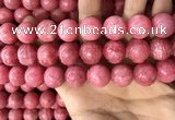 CRC1053 15.5 inches 16mm round rhodochrosite beads wholesale