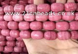 CRC1058 15.5 inches 13*18mm drum rhodochrosite beads wholesale