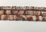 CRC1099 15.5 inches 15*20mm rectangle rhodochrosite beads