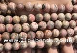 CRC1153 15.5 inches 11mm round rhodochrosite gemstone beads