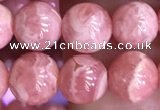 CRC1160 15.5 inches 7mm round rhodochrosite gemstone beads
