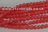 CRC500 15.5 inches 4mm round synthetic rhodochrosite beads