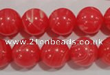 CRC505 15.5 inches 14mm round synthetic rhodochrosite beads
