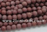 CRC51 15.5 inches 6mm round rhodochrosite gemstone beads wholesale