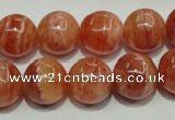 CRC555 15.5 inches 14mm round imitation rhodochrosite beads wholesale