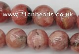 CRC759 15.5 inches 12mm round rhodochrosite beads wholesale