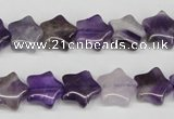 CRG12 15.5 inches 12*12mm star amethyst gemstone beads wholesale