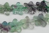 CRG17 15.5 inches 16*16mm star fluorite gemstone beads wholesale