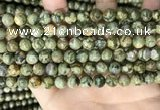 CRH572 15.5 inches 8mm round rhyolite gemstone beads wholesale