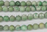 CRO03 15.5 inches 6mm round Qinghai jade gemstone beads wholesale
