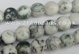 CRO200 15.5 inches 10mm round tree agate beads wholesale