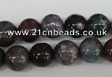 CRO283 15.5 inches 12mm round Indian agate beads wholesale