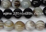 CRO301 15.5 inches 12mm round agate gemstone beads wholesale