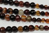 CRO701 15.5 inches 6mm – 14mm faceted round dream agate beads
