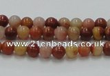 CRS02 15.5 inches 6mm round rainbow stone beads wholesale