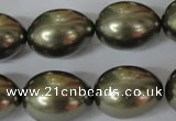 CSB128 15.5 inches 14*18mm – 15*20mm rice shell pearl beads